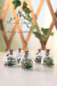 Gift jars with lavender B-06